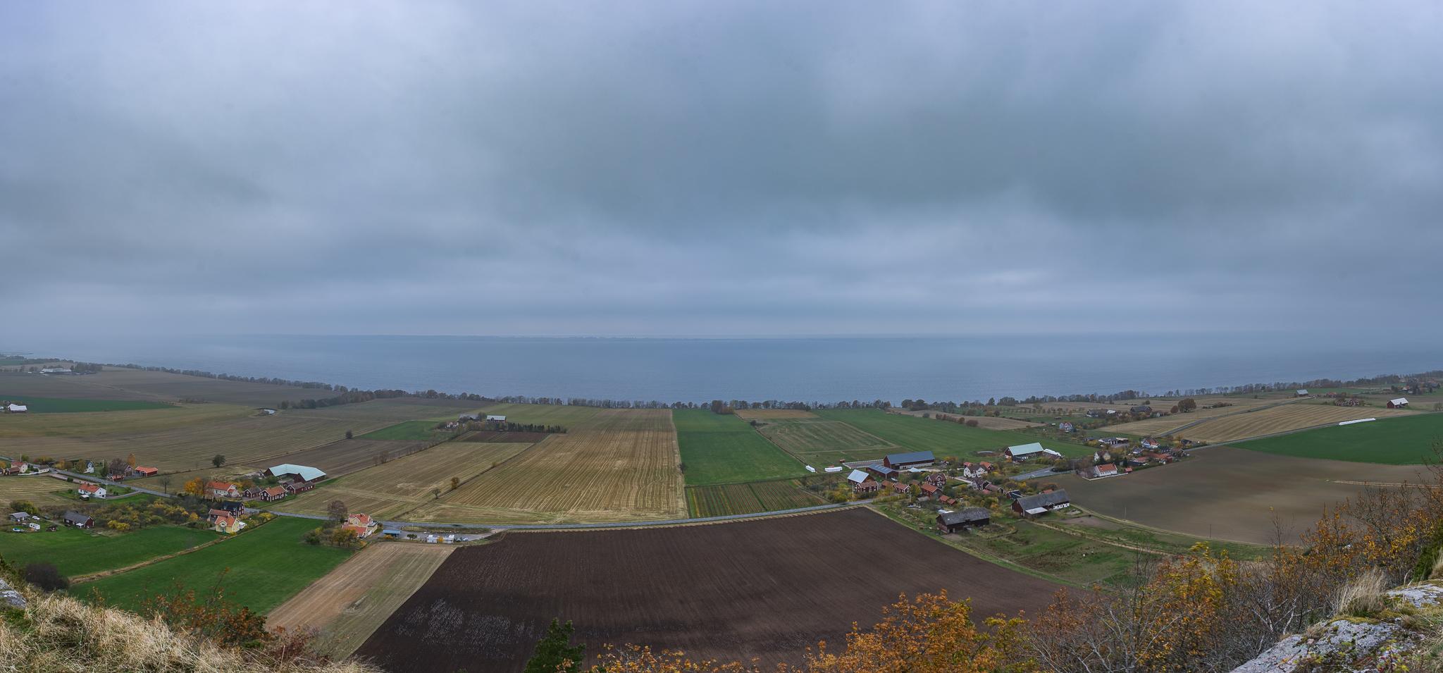 Gränna landsbyggd panorama - 20151101